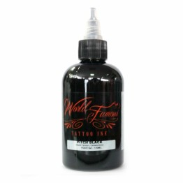 Pitch Black 120 ml WORLD FAMOUS INK